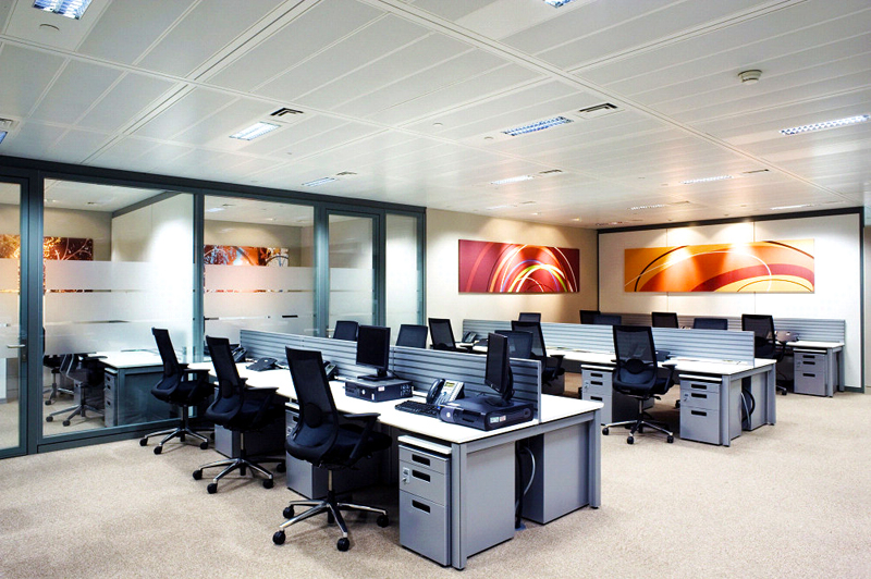 relocation project for ricoh uk ltd sales office u0026 showroom london england japanese office layout p79 office