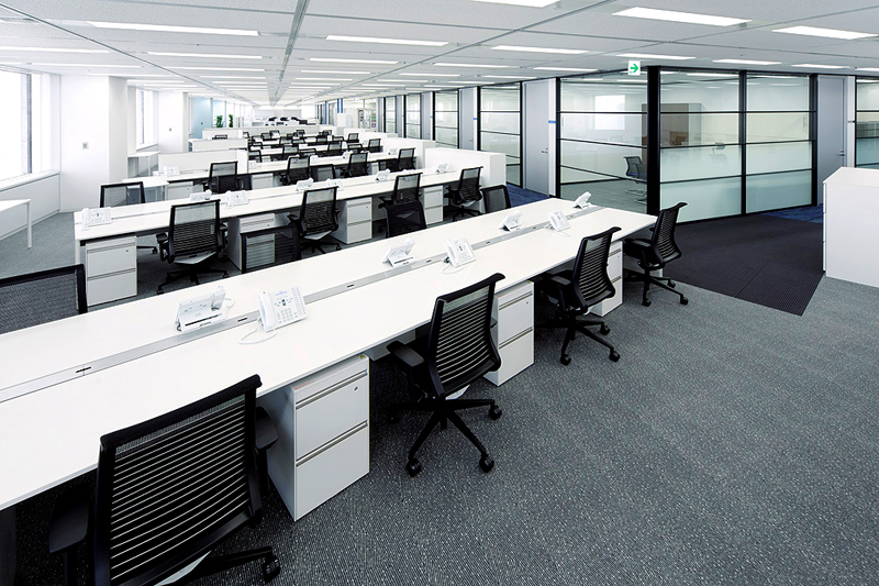 Furniture business overview kokuyo worldwide for New office layout