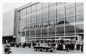 The venue for the 1958 DRUPA