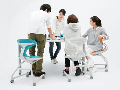 Chairs for Active Learning, Campus UP, won the iF Design Award 2016 ...